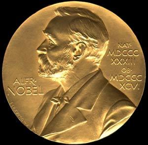 Huy chương vàng giải Nobel