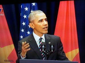 Obama phát biểu